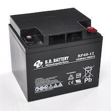 12V 40Ah batterie au plomb (AGM), B.B. Battery BP40-12, VdS, 197x165x171 mm (Lxlxh), Borne I2 (Insert M6)