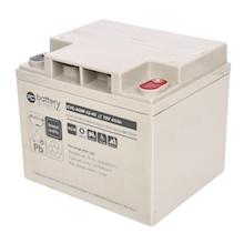 12V 40Ah batterie cyclique au plomb, battery-direct CYC-AGM-12-40, 197x165x171 mm (Lxlxh), Borne I2 (Insert M6)