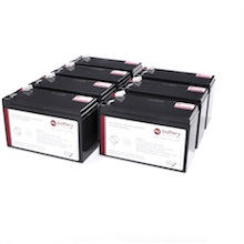 Batteries individuelles pour onduleur MGE
