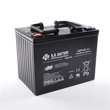 12v 80ah batterie au plomb agm b b battery mpl80 12 h. Black Bedroom Furniture Sets. Home Design Ideas