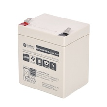 12V 5Ah batterie Stand-by au plomb, battery-direct SBY-AGM-12-5, 90x70x101 mm (Lxlxh), Borne T2 Faston 250 (6,3 mm)