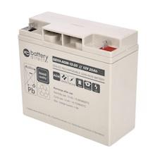 12V 20Ah batterie au plomb, battery-direct SBYH-AGM-12-20, 181x77x167 mm (Lxlxh), Borne B1 (Vis écrou M5)