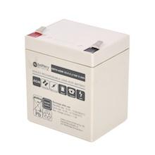 12V 5.5Ah Batterie au plomb, battery-direct SBYH-AGM-12-5.5, 90x70x101 mm (Lxlxh), Borne T2 Faston 250 (6,3 mm)