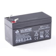 12V 1.2Ah batterie au plomb (AGM), B.B. Battery BP1.2-12, VdS, 97x45x53 mm (Lxlxh), Borne T1 Faston 187 (4,75 mm)