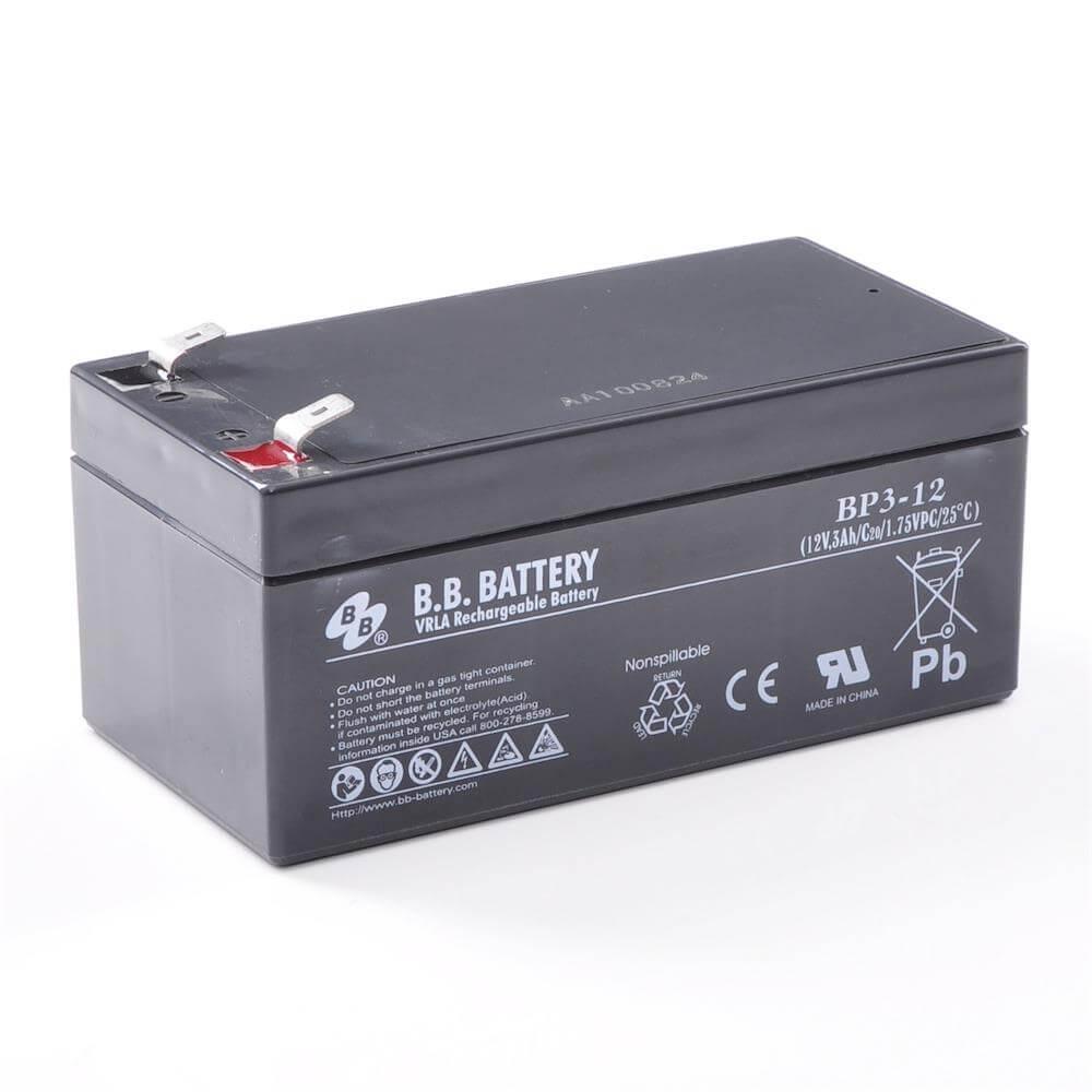 12v 3ah batterie au plomb agm b b battery bp3 12 134x67x60 mm lxlxh borne t2 faston 250. Black Bedroom Furniture Sets. Home Design Ideas