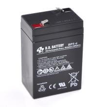 6V 5Ah batterie au plomb (AGM), B.B. Battery BP5-6, 70x48x102 mm (Lxlxh), Borne T1 Faston 187 (4,75 mm)