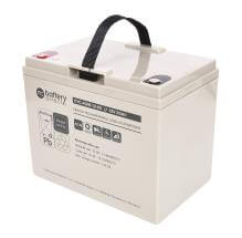 12V 80Ah batterie cyclique au plomb, battery-direct CYC-AGM-12-80, 260x168x215 mm (Lxlxh), Borne I2 (Insert M6)