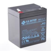 12V 5.8Ah batterie au plomb (AGM), B.B. Battery HR5.8-12, 90x70x102 mm (Lxlxh), Borne T2 Faston 250 (6,3 mm)