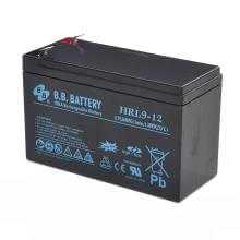 12V 9Ah bBatterie au plomb (AGM), B.B. Battery HRL9-12, 151x65x94 mm (Lxlxh), Borne T2 Faston 250 (6,3 mm)