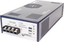 Chargeur MEC 12V/20A pour batteries étanches au plomb AGM/gel et batteries ouvertes