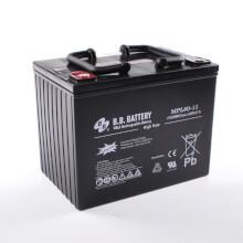 12V 80Ah Batterie au plomb (AGM), B.B. Battery MPL80-12 H, 261x173x200 mm (Lxlxh), Borne I2 (Insert M6)