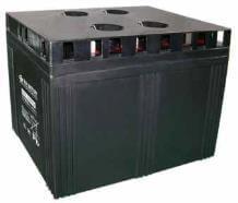 2V 2000Ah batterie au plomb (AGM), B.B. Battery MSB-2000, 490x350x371 mm (Lxlxh), Borne B6 (Vis écrou M8)