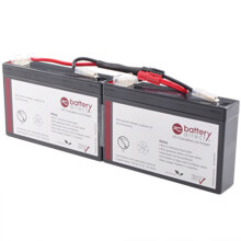 Batterie pour APC Smart UPS SC 250/450 et APC Powerstack 250/450 remplace APC RBC18