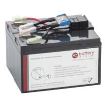 Batterie pour APC Smart UPS 750 remplace APC RBC48