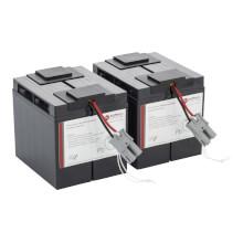 Batterie pour APC Smart UPS remplace APC RBC55