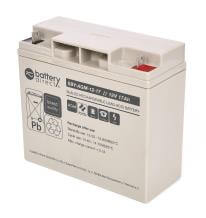 12V 17Ah batterie Stand-by au plomb, battery-direct SBY-AGM-12-17, 181x77x167 mm (Lxlxh), Borne B1 (Vis écrou M5)