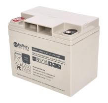 12V 40Ah Batterie au plomb, battery-direct SBYHL-AGM-12-40, 195x129x168 mm (Lxlxh), Borne I2 (Insert M6)